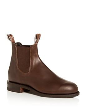 R.M. Williams - Men's Comfort Turnout Leather Chelsea Boots