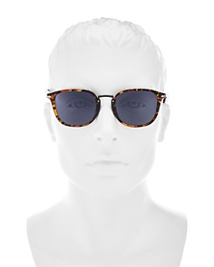 Persol - Men's Sartoria Square Sunglasses, 53mm