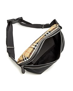 Burberry - Medium Vintage Check Nylon Belt Bag