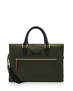 Ted Baker - Dancer Satin Nylon Document Bag