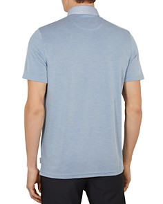 Ted Baker - Doller Woven-Collar Regular Fit Polo Shirt