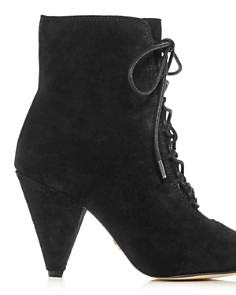 Kurt Geiger - Women's Pointed-Toe High-Heel Booties
