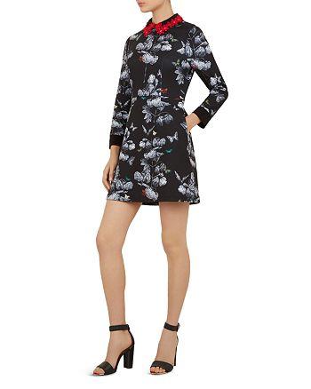 Ted Baker - Amaliia Narrnia Collar-Detail Dress