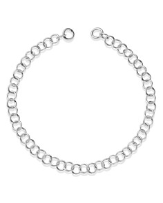 Dodo - Light Chain in Sterling Silver, 6.69""