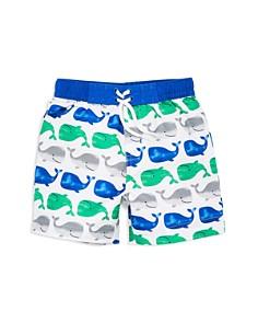 Little Me - Boys' Whale Swim Trunks - Baby