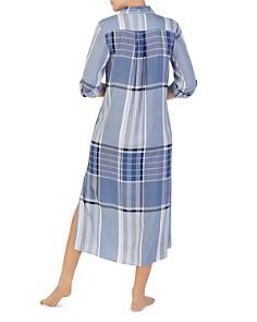Donna Karan - Mixed Print Maxi Sleep Shirt