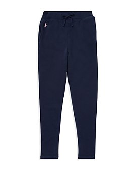 Ralph Lauren - Girls' French Terry Sweatpants - Big Kid