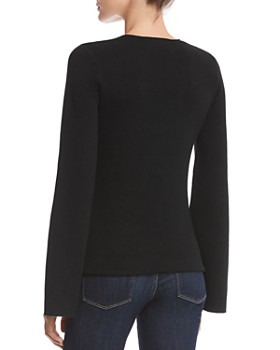 Bailey 44 - Got To Split Slit-Sleeve Sweater