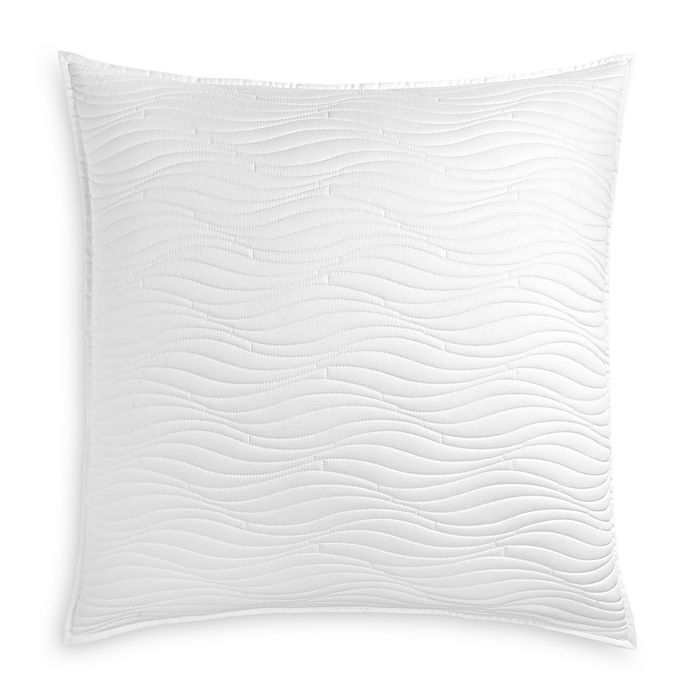 Oake - White Quilted Euro Sham - 100% Exclusive
