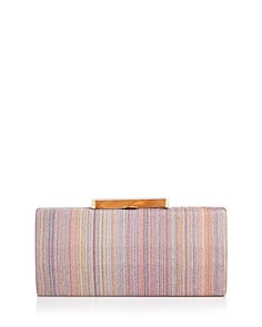 Sondra Roberts - Printed Fabric Box Clutch