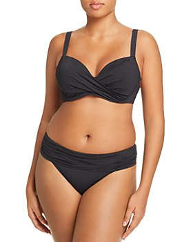 Bleu Rod Beattie - Plus Underwire Bra Bikini Top & Hipster Bikini Bottom