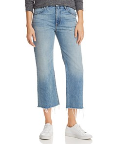 Hudson - Sloane Crop Straight Jeans in Outpace