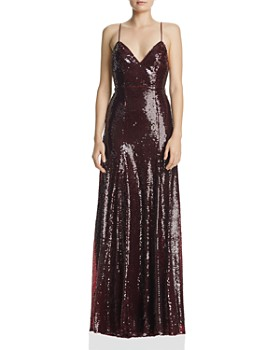 Fame and Partners - Madeleine Sequined Gown ... 31b5a3665