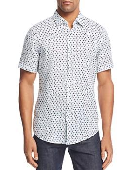BOSS Hugo Boss - Ronn Patterned Slim Fit Button-Down Shirt