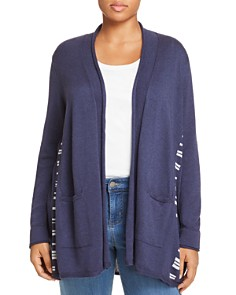 NIC and ZOE Plus - Back At It Open Front Cardigan