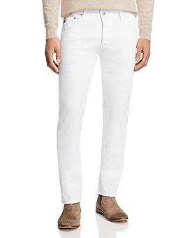 AG - Tellis Slim Fit Jeans in White