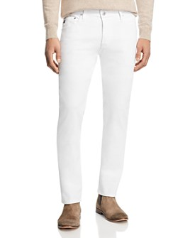 AG - Tellis Slim Fit Jeans in White