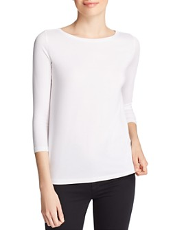 Majestic Filatures - Three-Quarter Sleeve Soft Touch Tee