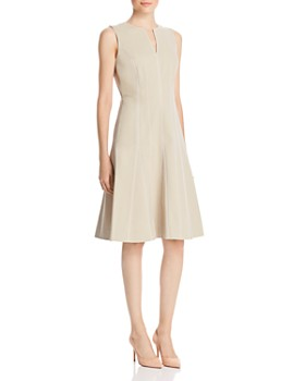 358b9e6eacab Lafayette 148 New York - Rochelle Seamed Fit-and-Flare Dress ...