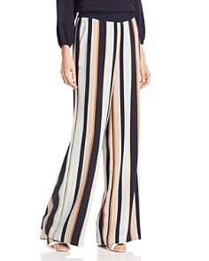 Lafayette 148 New York - Hester Striped Wide-Leg Pants