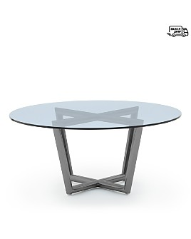 Mitchell Gold Bob Williams - Modern Round Dining Table, Large