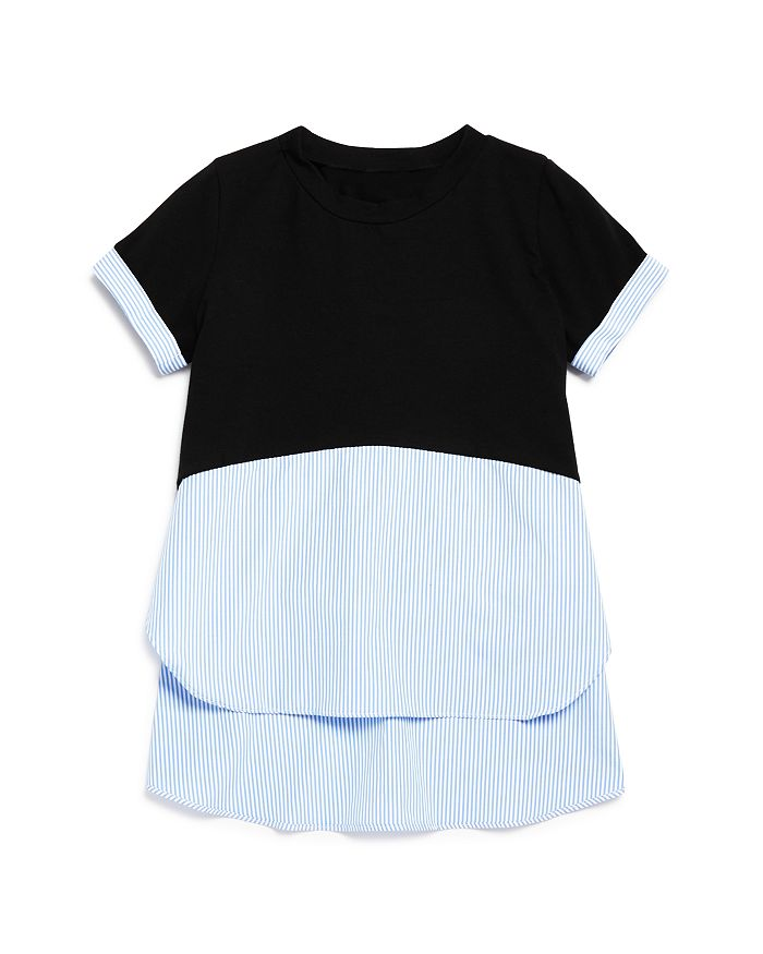 AQUA - Girls' Layered-Look Top - Big Kid - 100% Exclusive
