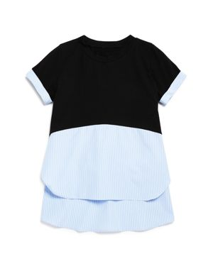 Aqua Girls' Layered-Look Top - Big Kid - 100% Exclusive