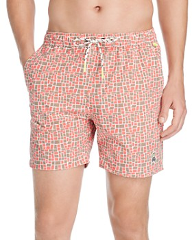 Psycho Bunny - Square Swim Trunks