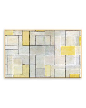 Bloomingdale's Artisan Collection - Geo in Yellow Wall Art