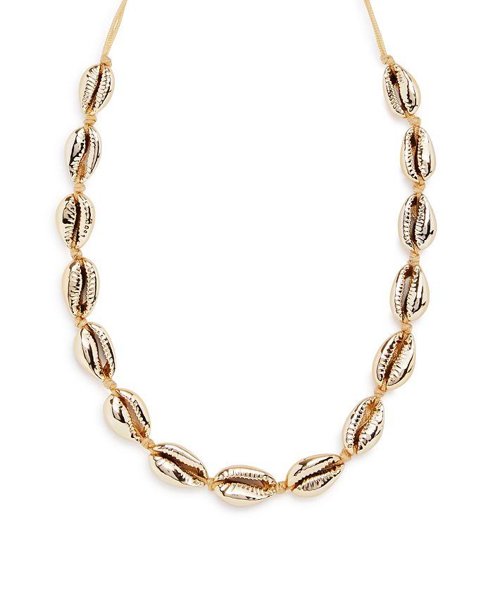 """AQUA - Shell Necklace, 14"""" - 100% Exclusive"""