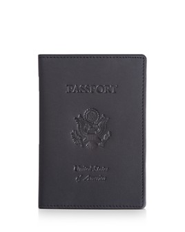 ROYCE New York - Leather RFID-Blocking U.S. Passport Case