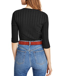 Free People - Central Park Ribbed Top