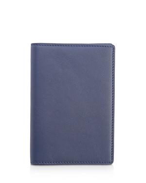 Royce New York Leather Rfid-Blocking Passport Case