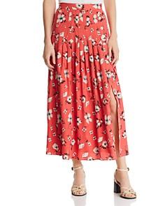 Rebecca Taylor - Daniella Pleated Jacquard Skirt