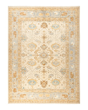 Solo Rugs Oushak Pax Hand-Knotted Area Rug, 9'3 x 12'4
