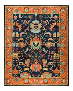 Solo Rugs - Eclectic Ansan Hand-Knotted Area Rug Collection