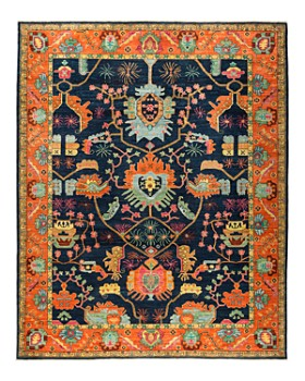 Solo Rugs Eclectic Ansan Hand Knotted Area Rug Collection