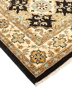 """Solo Rugs - Eclectic Mercy Hand-Knotted Area Rug, 2'10"""" x 11'7"""""""