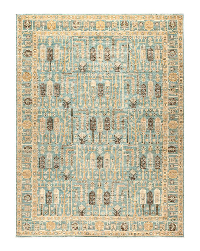 Solo Rugs Oushak Monahen Hand-Knotted