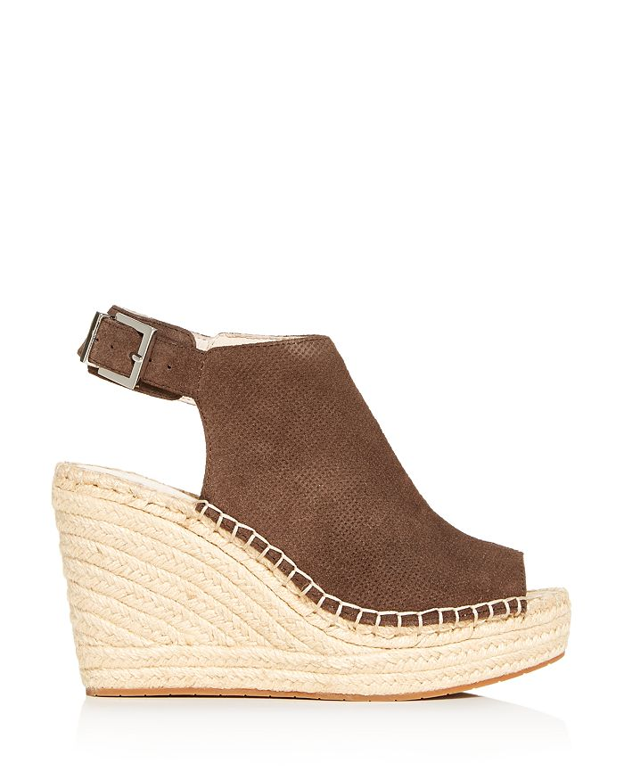 bfe73c2bb04 Women's Olivia Perforated Wedge Espadrille Sandals