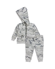 Sovereign Code - Boys' Fatone + Barack Zip Hoodie & Jogger Pants Set - Baby