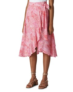 Whistles - Printed Wrap Skirt