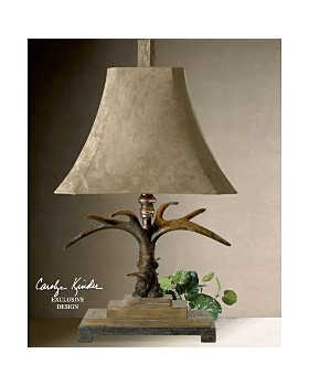 Uttermost - Stag Horn Table Lamp