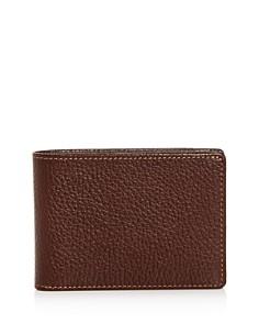 BOCONI - Tyler Slimster Leather Bi-Fold Wallet