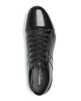 Kenneth Cole - Men's Down N Up Perforated Leather Low-Top Sneakers
