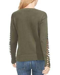 VINCE CAMUTO - Sliced Sleeve Sweater
