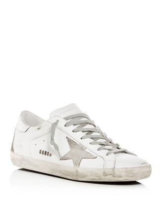 Men's Superstar Leather Low Top Sneakers by Golden Goose Deluxe Brand