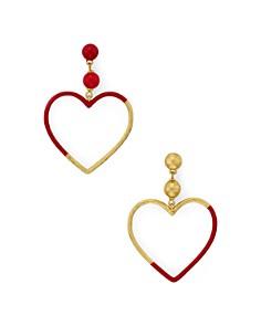 kate spade new york - Asymmetrical Heart Earrings