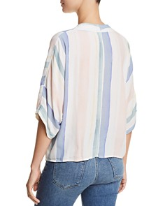 Rails - Thea Striped Tie-Front Top