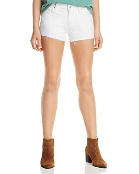 Hudson - Gemma Cutoff Denim Shorts in White